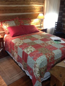 Dogtrot West Cabin Bedroom